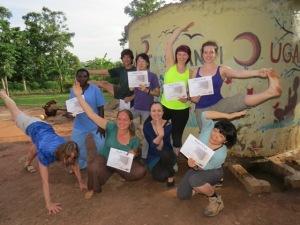 Our graduating group of Prenatal Yoga Teachers!