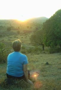 mom sun set