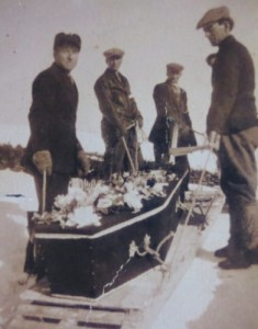 Winter Funeral Ship Cove 1957